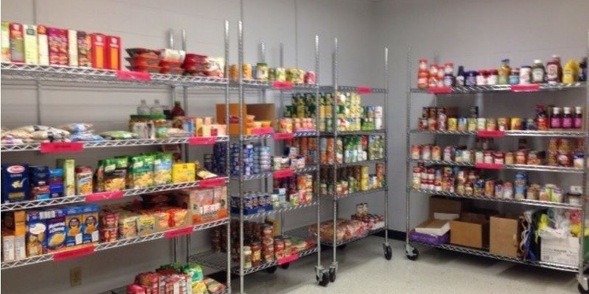 Redhawk Food Pantry and Career Closet open for business