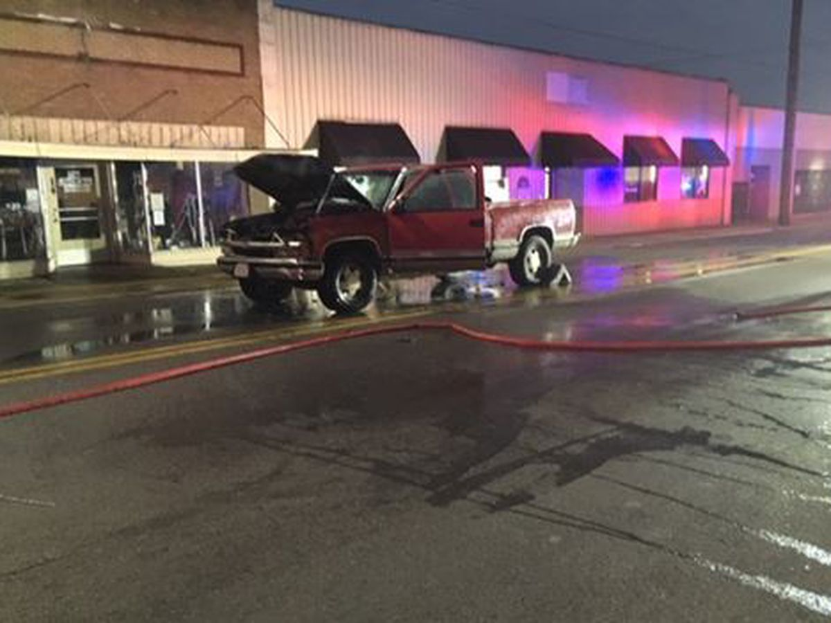 Crews responded to truck fire in Cape Giradeau, MO
