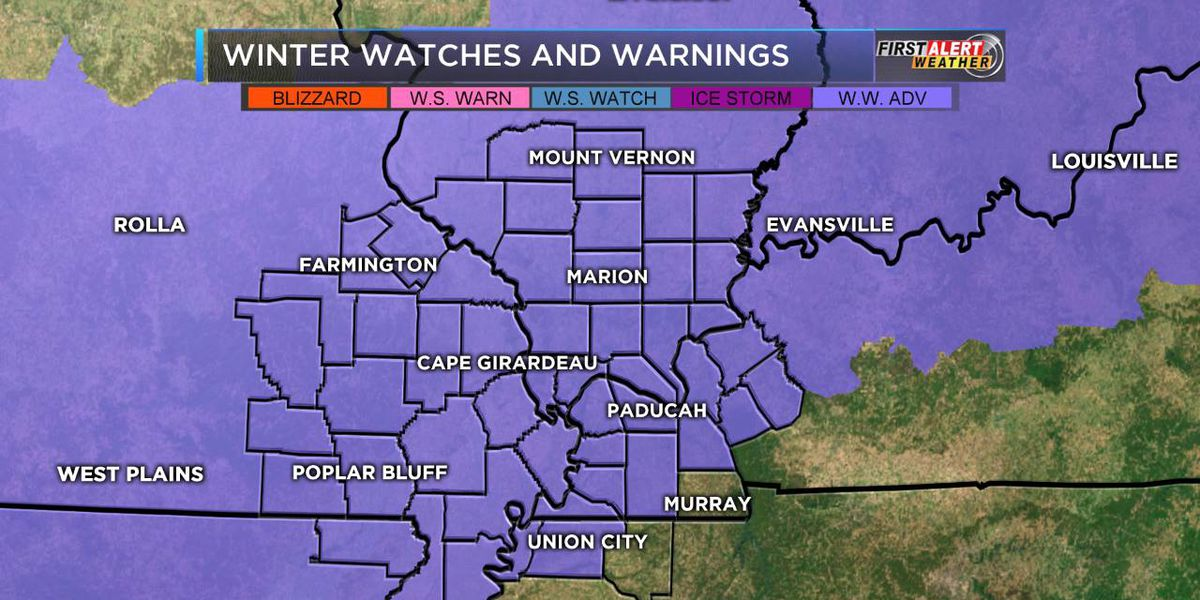 First Alert: Winter Weather Advisory begins this evening