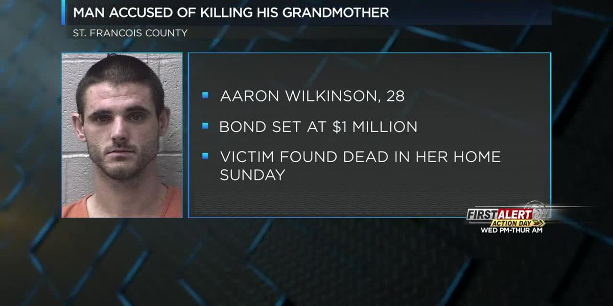 Grandson admits to killing grandmother in St. Francois Co., MO arrested in Washington Co.