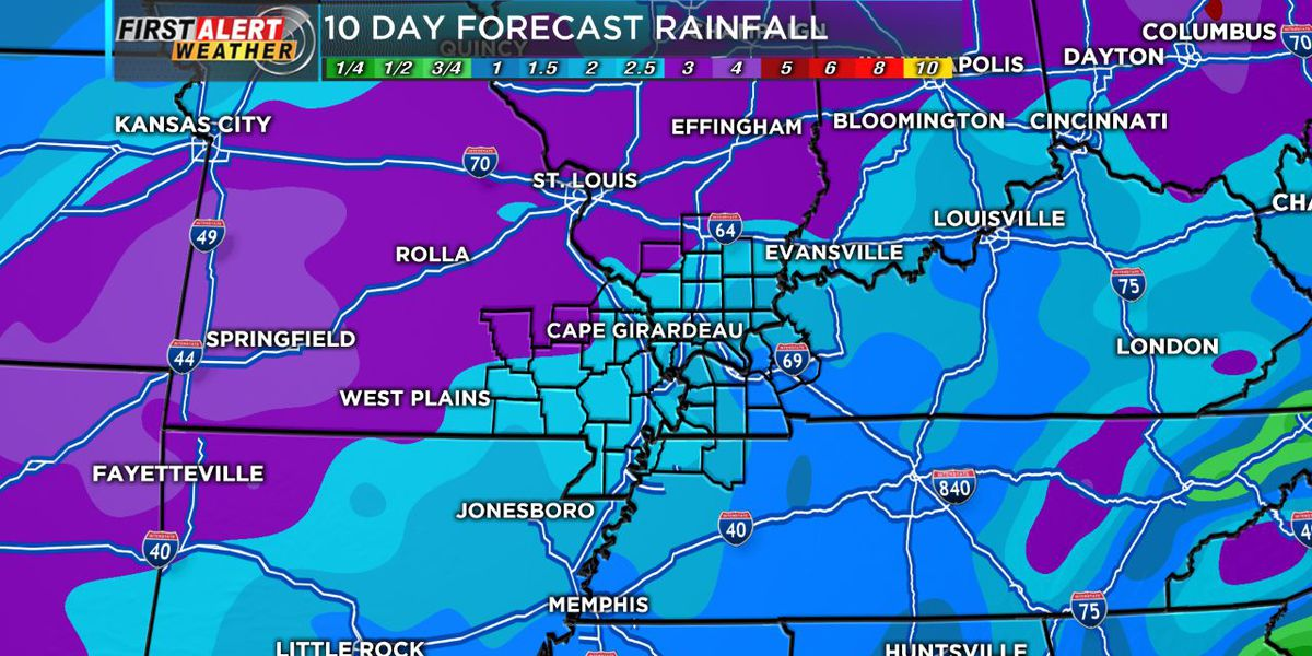 First Alert: Isolated showers possible to the west