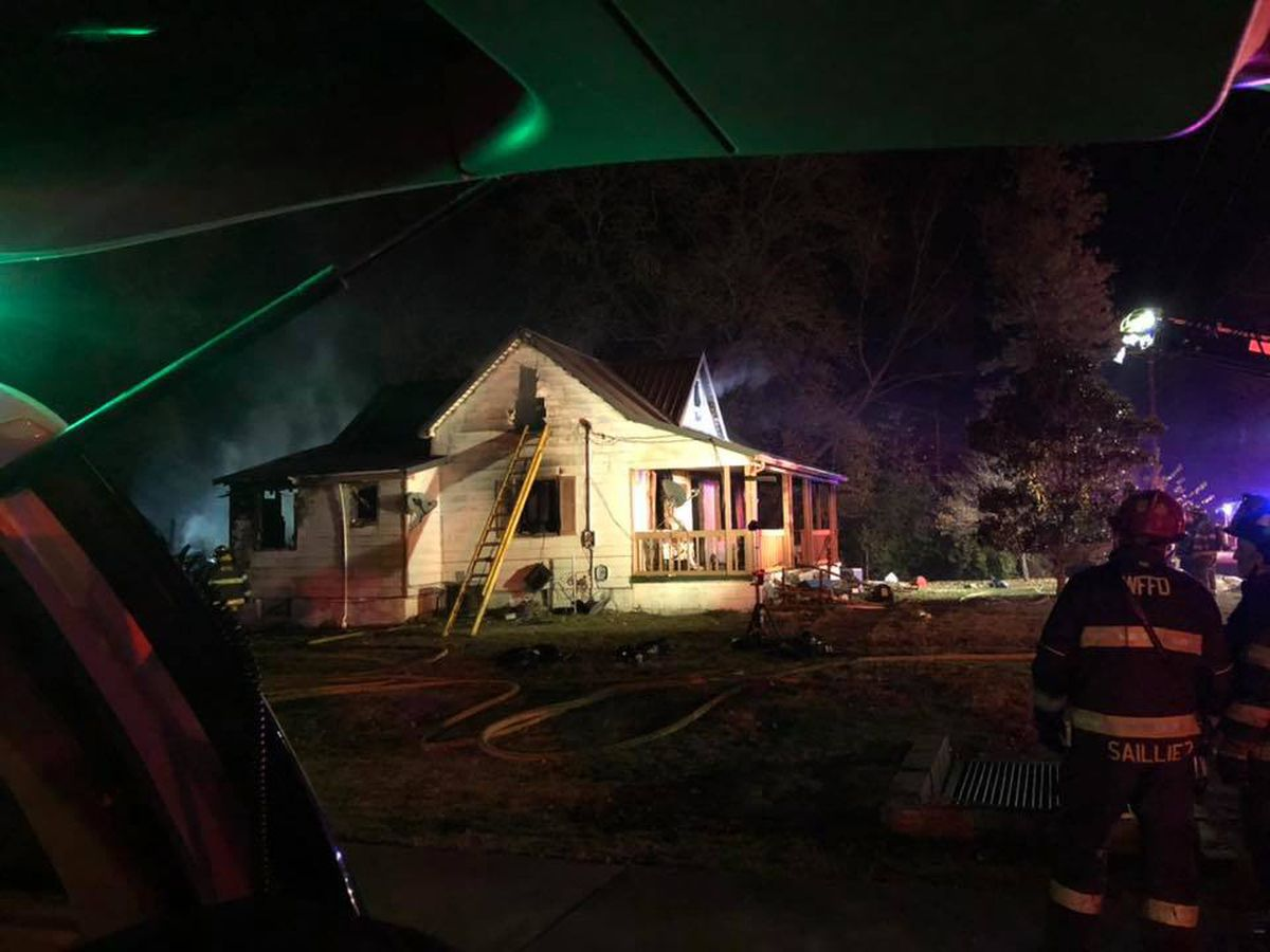 Crews respond to structure fire in West Frankfort, IL