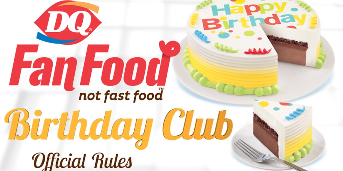 Dairy Queen Breakfast Show Birthday Club official rules