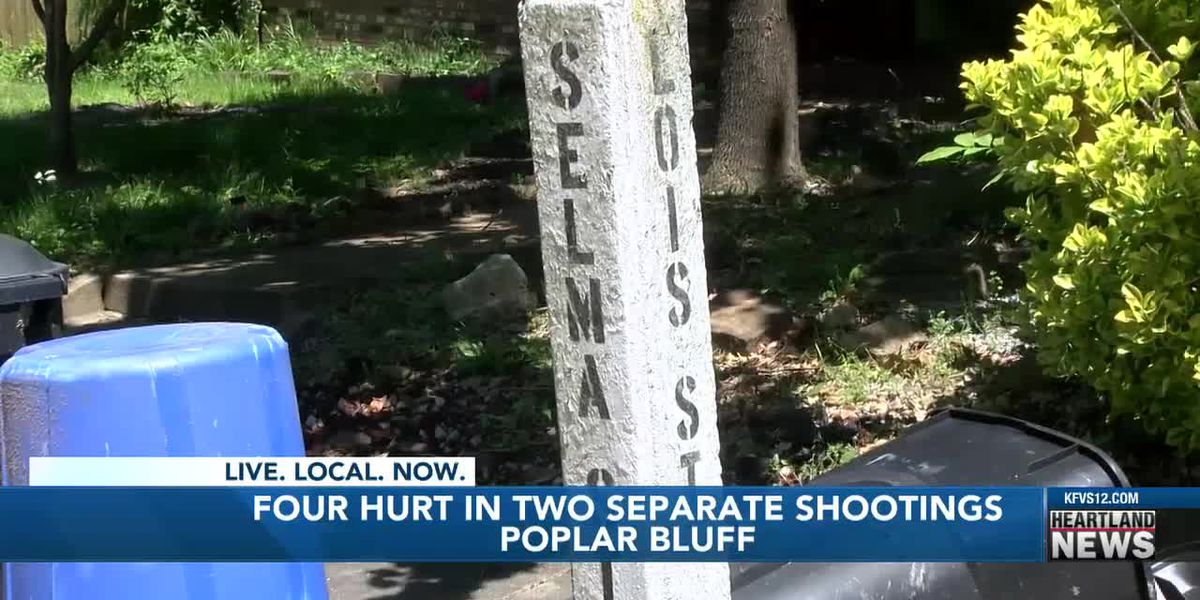 Man arrested for injuring 4 in 2 separate shootings in Poplar Bluff