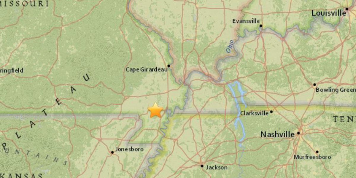 Magnitude 2.1 earthquake rattles parts of southeast MO