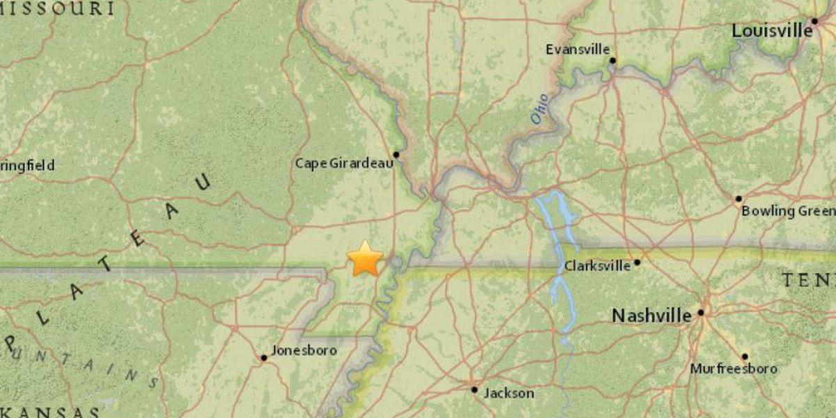 Magnitude 2.1 earthquake rattles parts of southeast MO