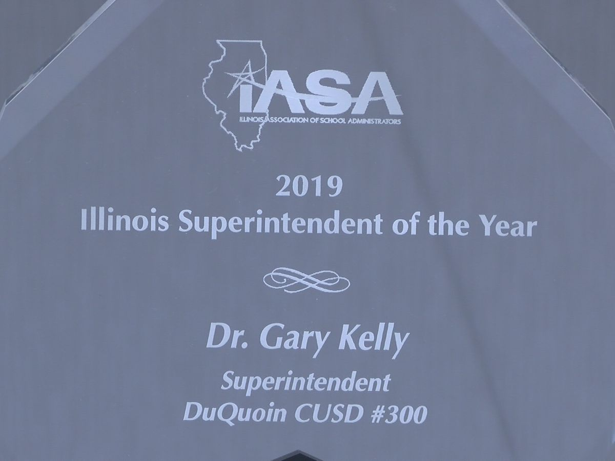 Du Quoin administrator wins IL Superintendent of the Year