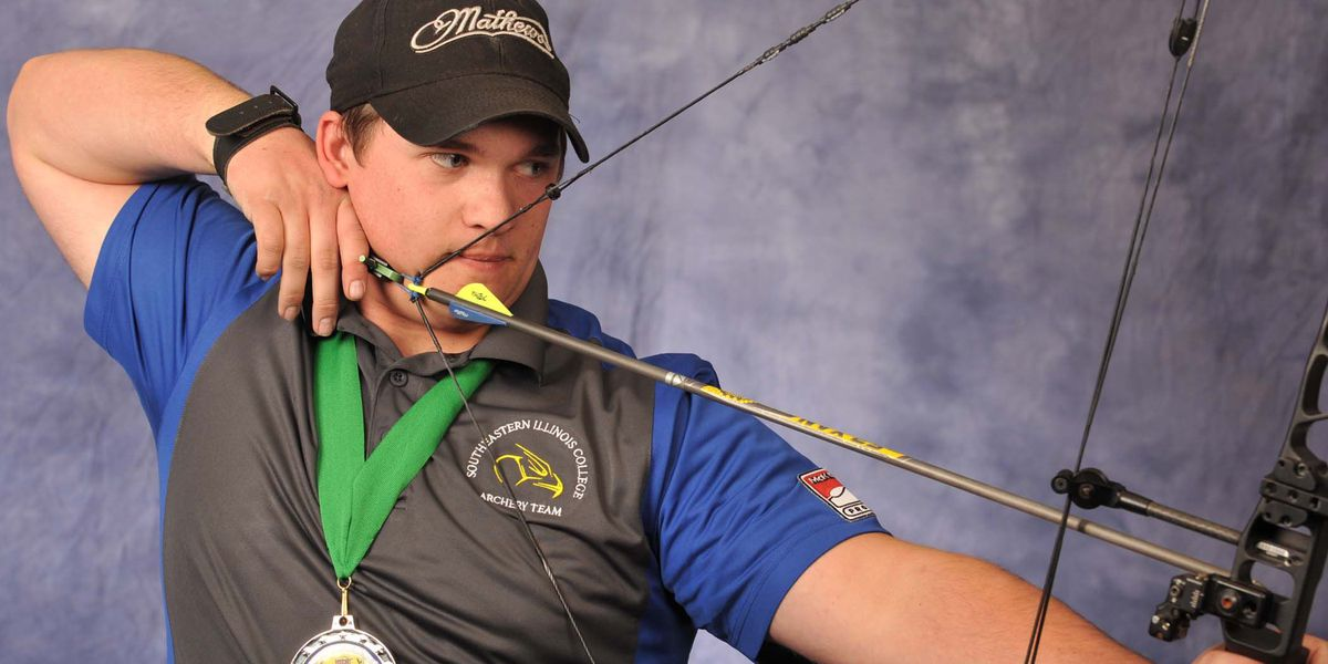 SIC's Eli Bond goes for third national archery title