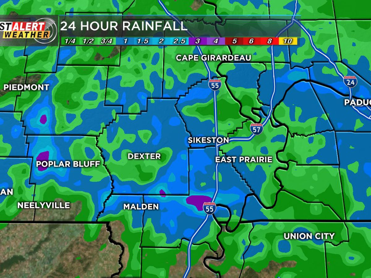 First Alert: Scattered rain expected tonight