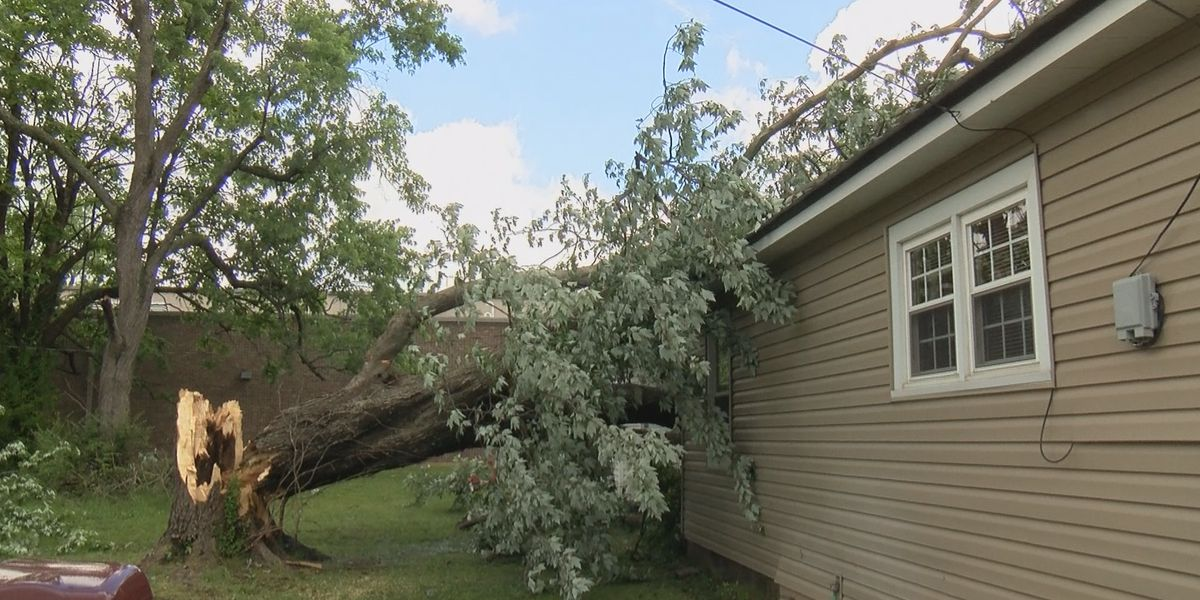 Some residents in Dexter are still cleaning up after storm