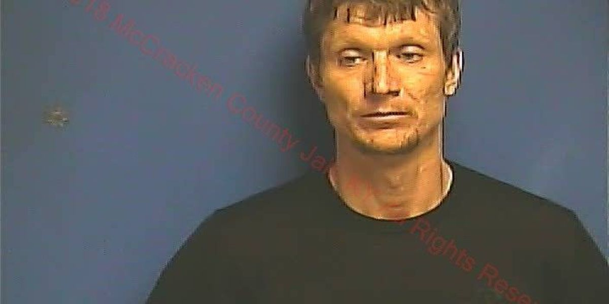 Paducah man arrested after chase, trying to hit deputy with vehicle