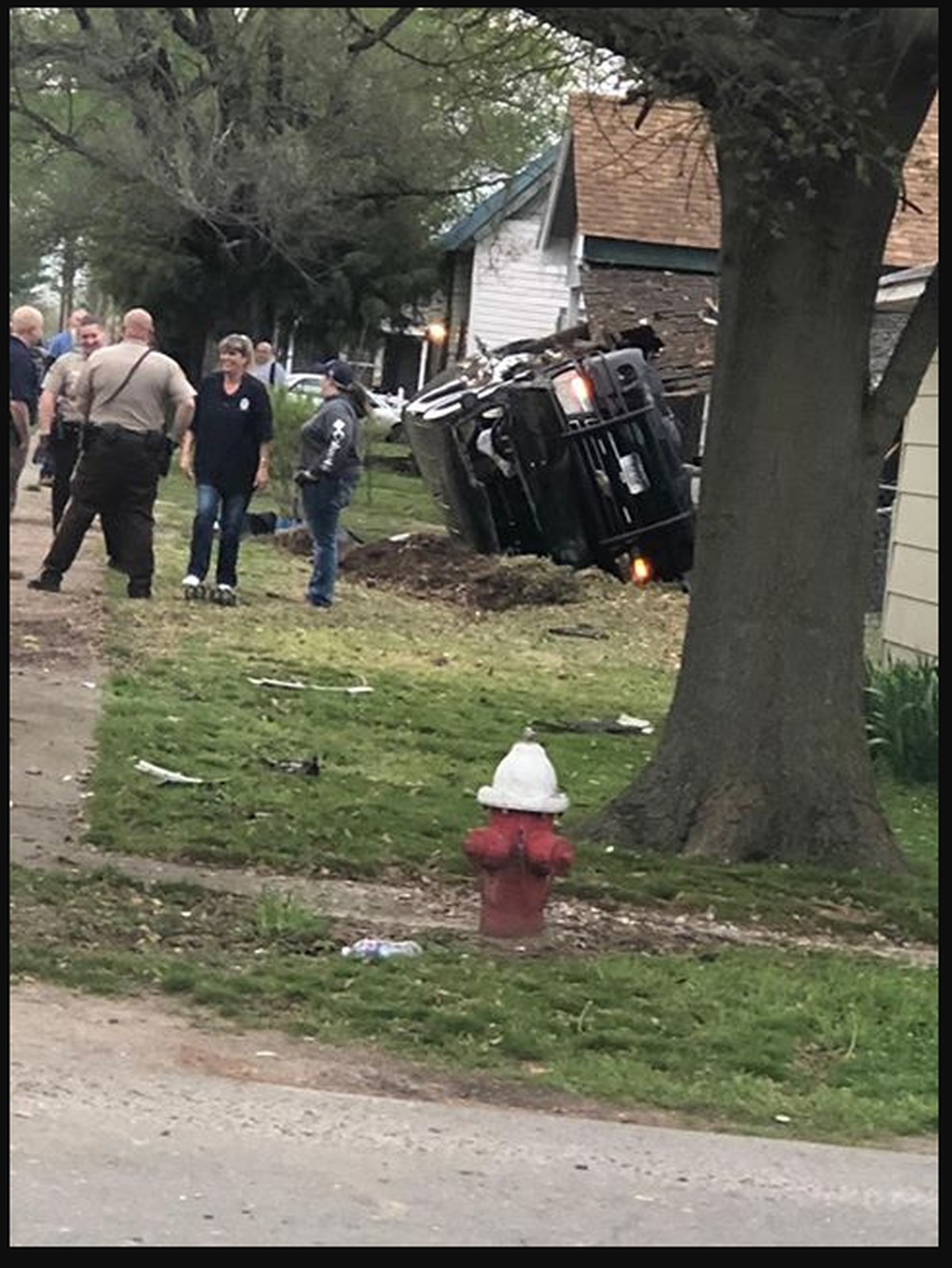 Bernie officer involved in car crash