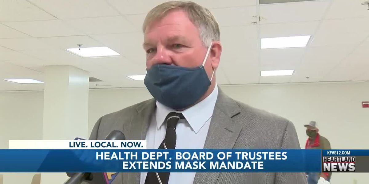 Health Dept. extends masks mandate