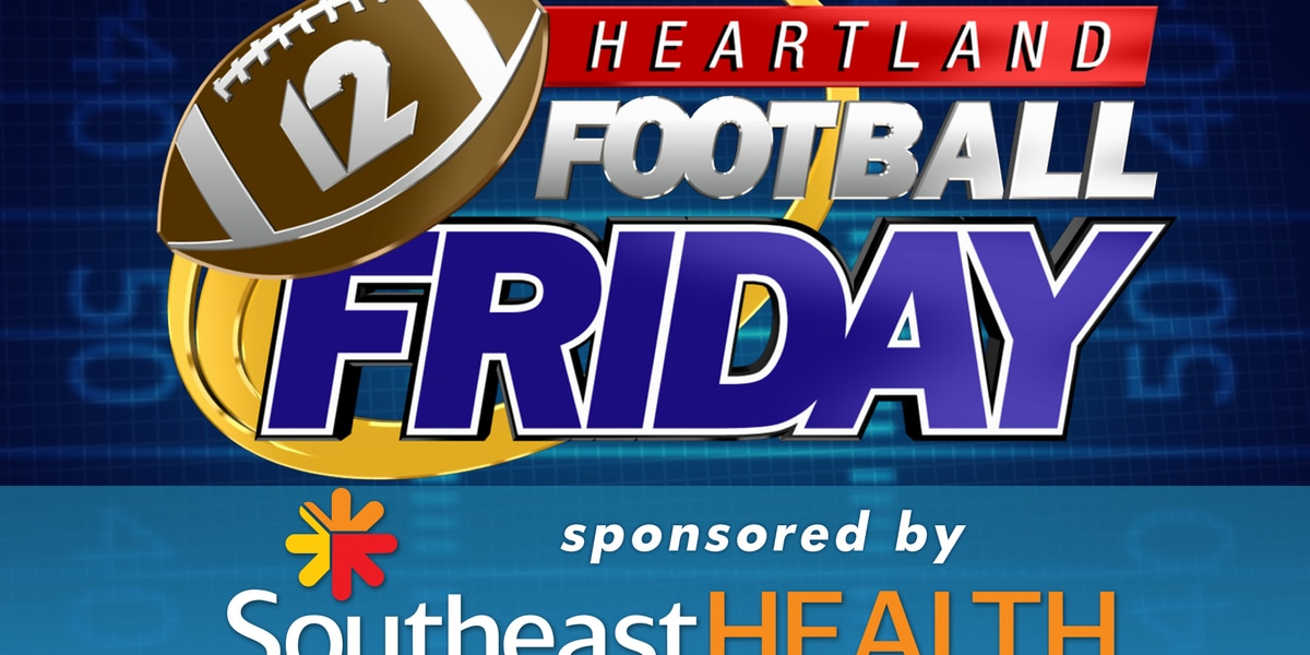 Heartland Football Friday featured games for 10/18