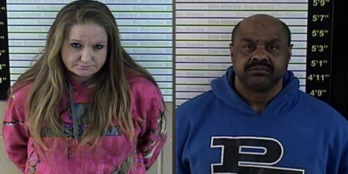 Man, woman arrested in shoplifting incident after 'scuffle' with officer