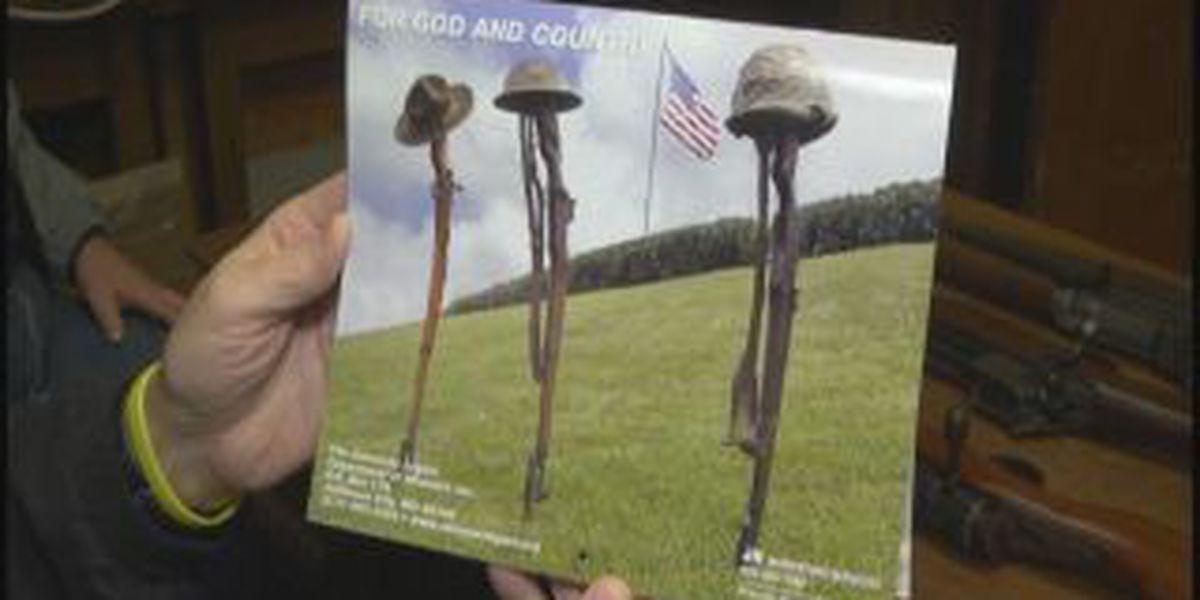 Some veterans call patriotic calendar photo 'disrespectful'