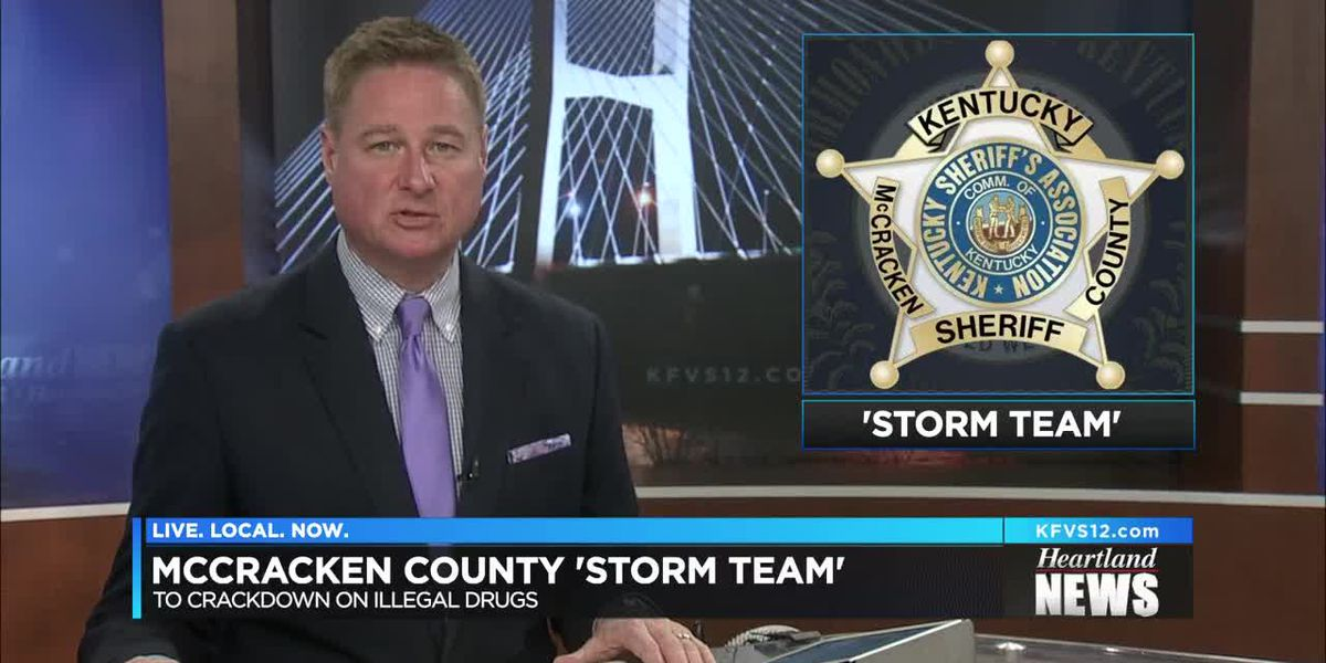 McCracken Co. STORM TEAM to fight drugs