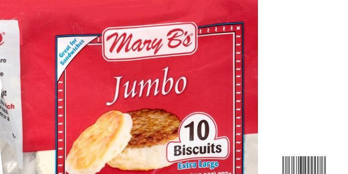 RECALL ALERT: Mary B's biscuits recalled due to Listeria concerns