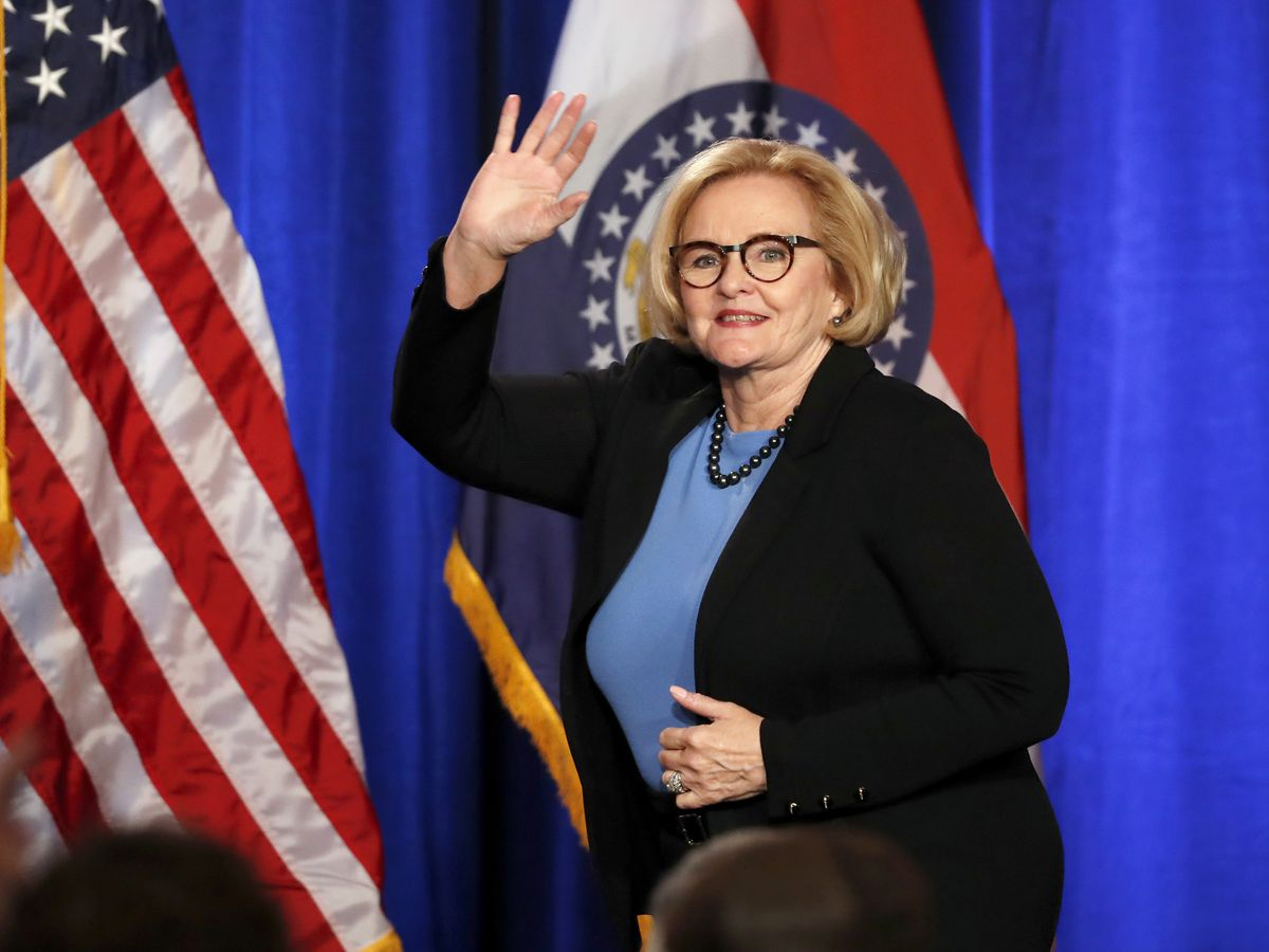McCaskill says she won't run again but will stay active