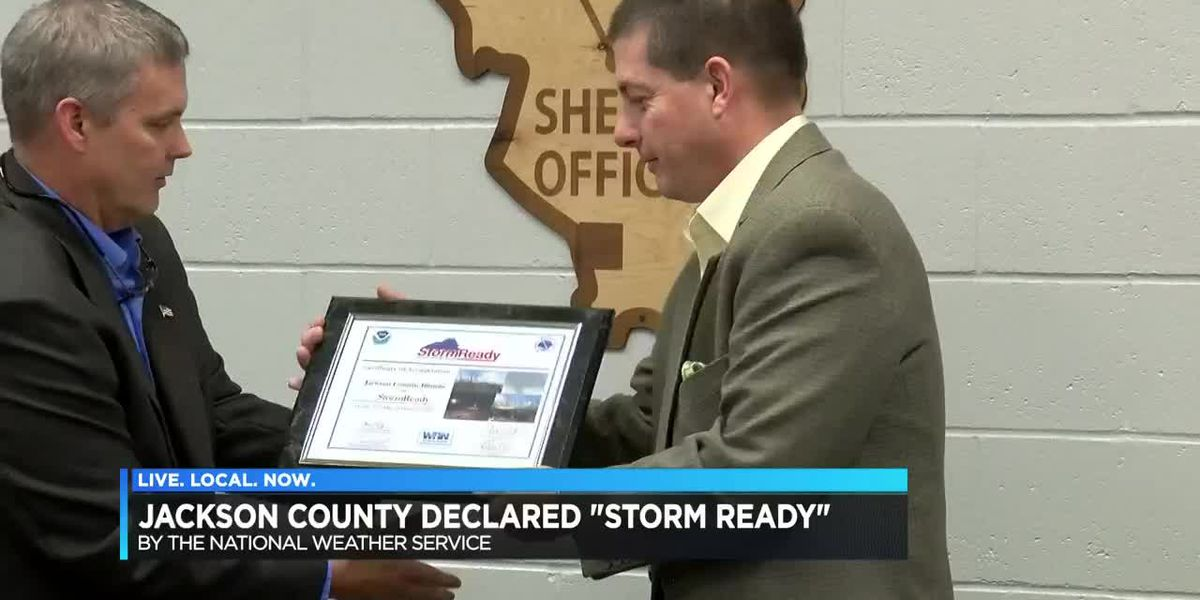 Jackson Co., Ill. recognized as StormReady