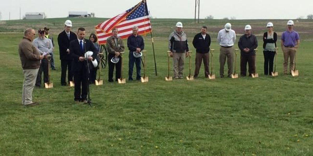 Groundbreaking held at MO's National Veterans Memorial Park in Perryville