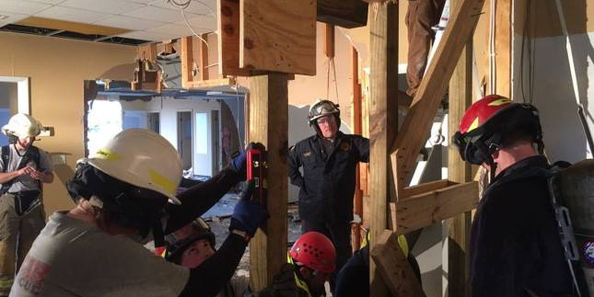 Paducah Fire Dept. uses music store damaged by truck for training