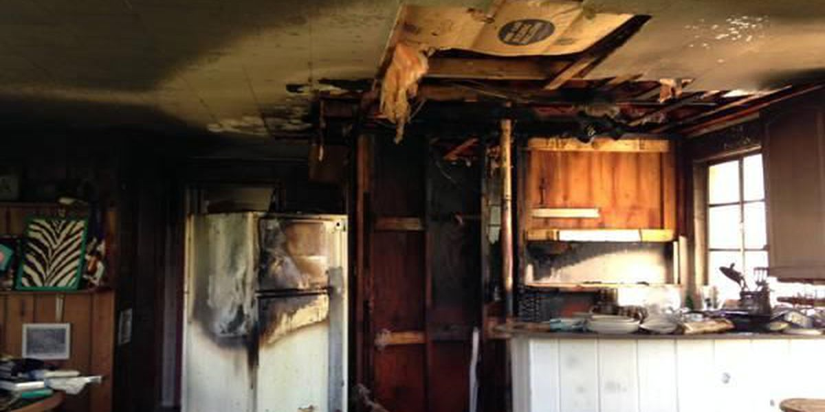 Makanda home significantly damaged after fire