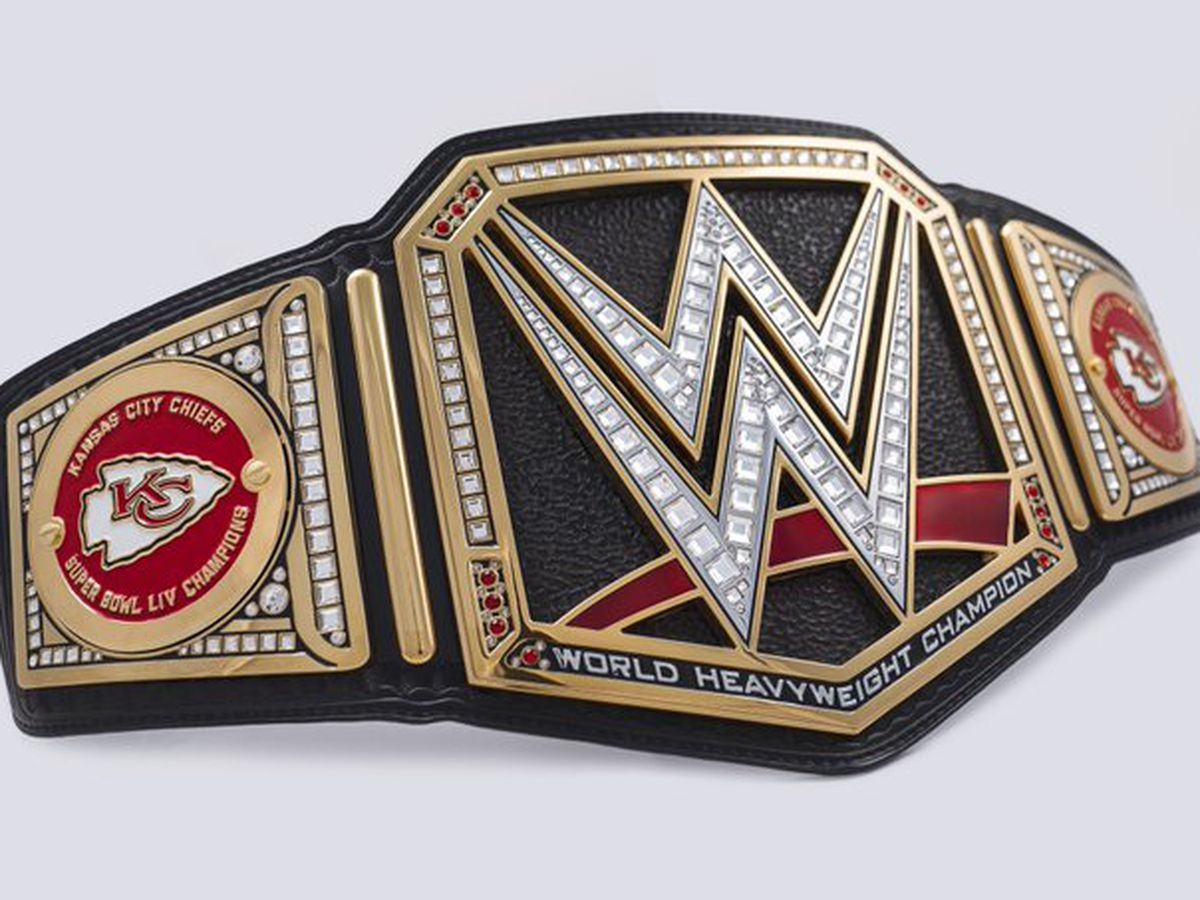 Kansas City Chiefs given WWE Title