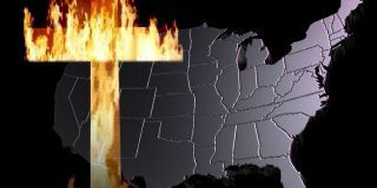 Tenn man pleads guilty to cross burning