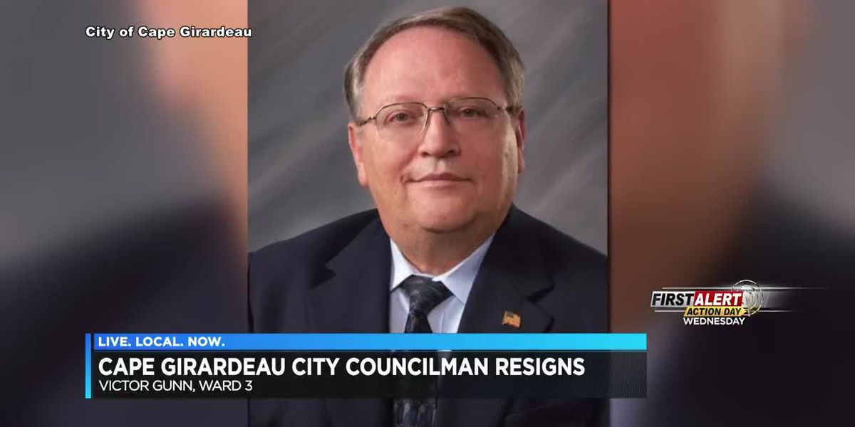 Cape Girardeau City council member resigns