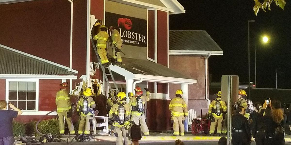 Crews respond to fire call at Red Lobster in Cape Girardeau, Mo.