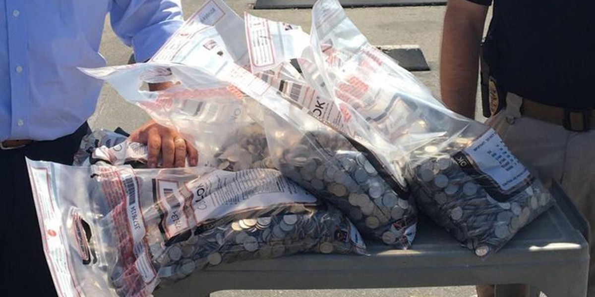 $6,000 in stolen quarters found in California baby stroller