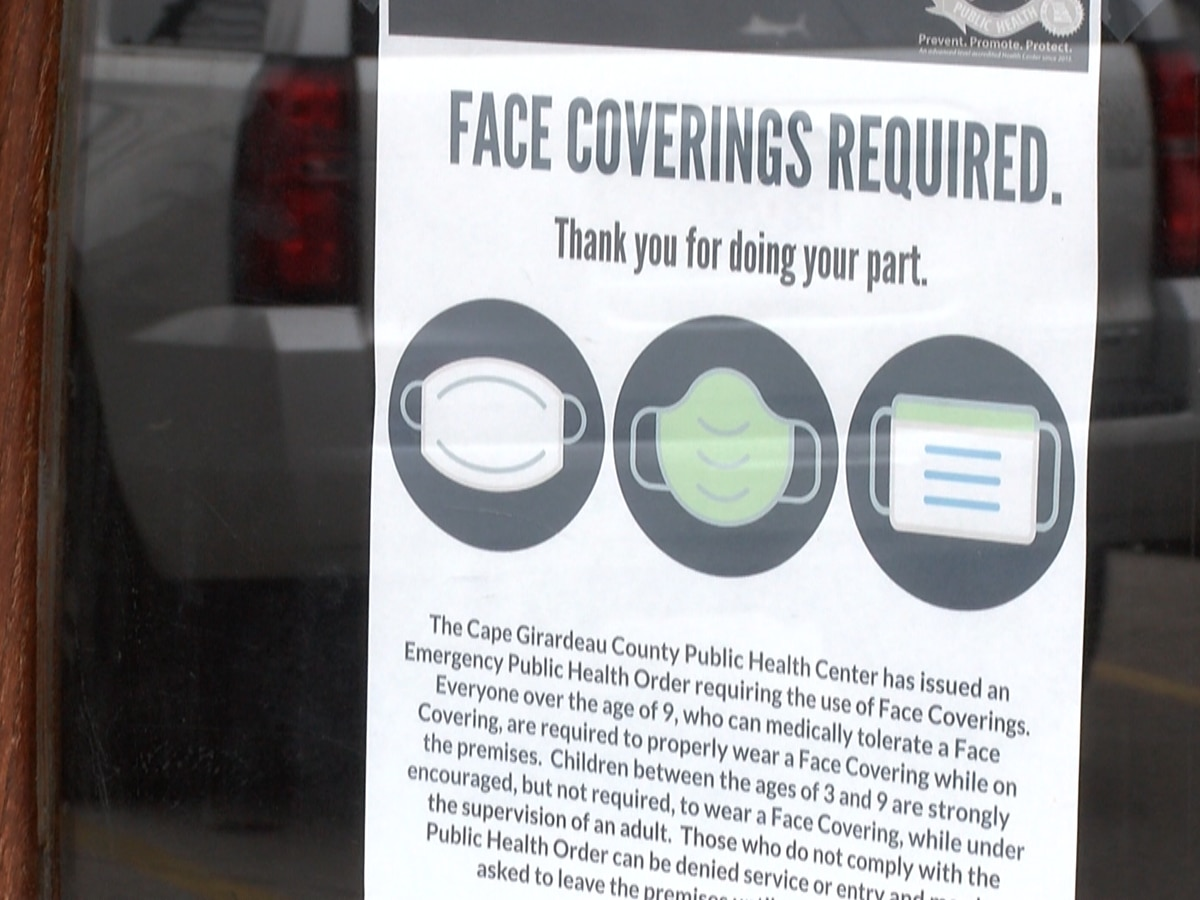 Cape Girardeau Co. Health Board to hold special session on face mask ordinance Mon.