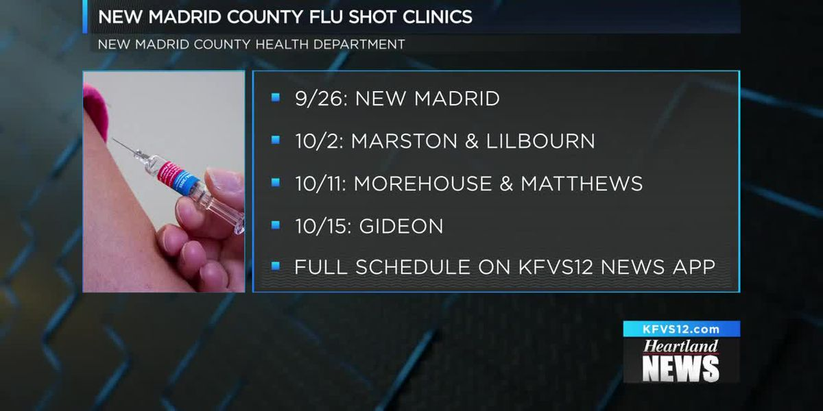 Flu shots in the Heartland