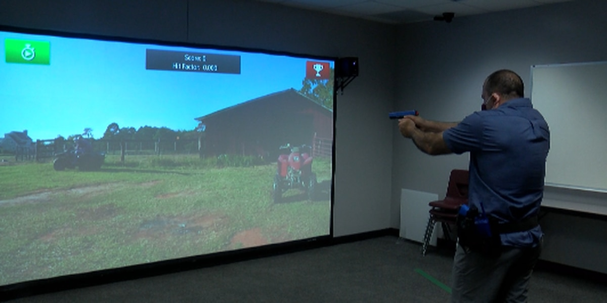 New tech. helps train Shawnee Community College criminal justice students