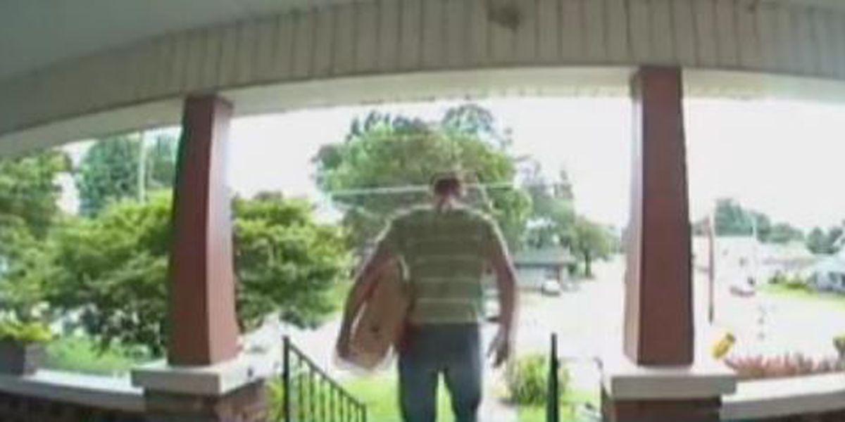 Porch Pirate caught on camera in Cape Girardeau