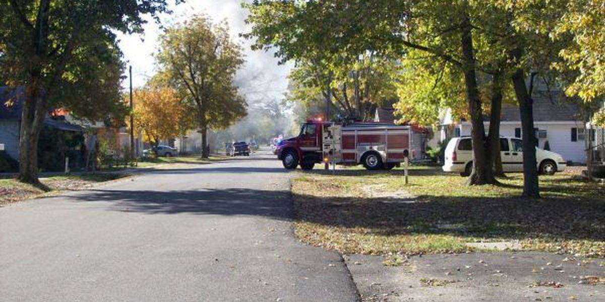 Woman, child escape house fire in Dexter