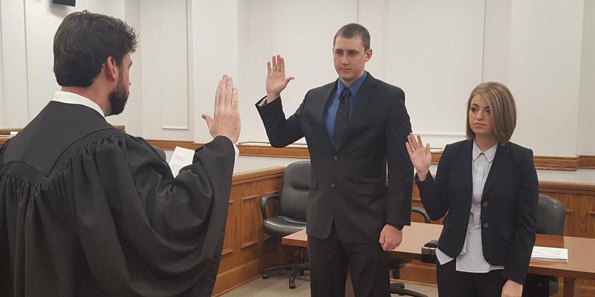 2 new Paducah police recruits sworn in