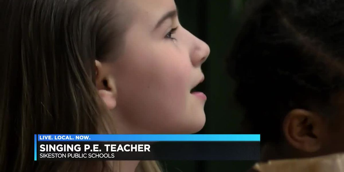 Sikeston's P.E. teacher sings