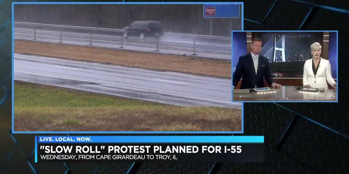 'Slow Roll' protest planned for I-55