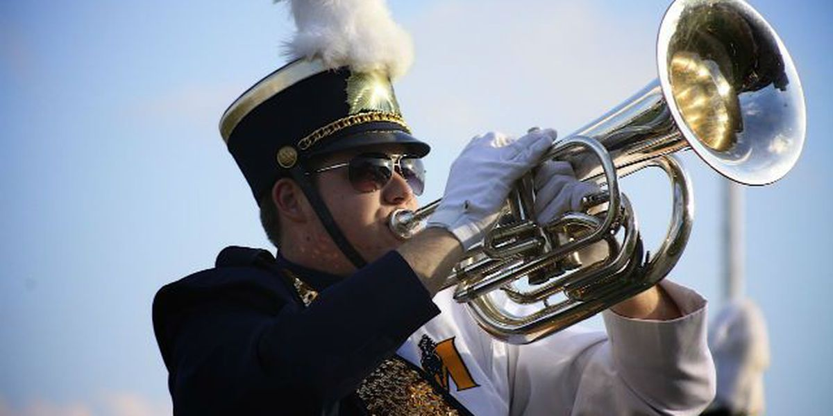 Murray State University hosts high school marching band competition