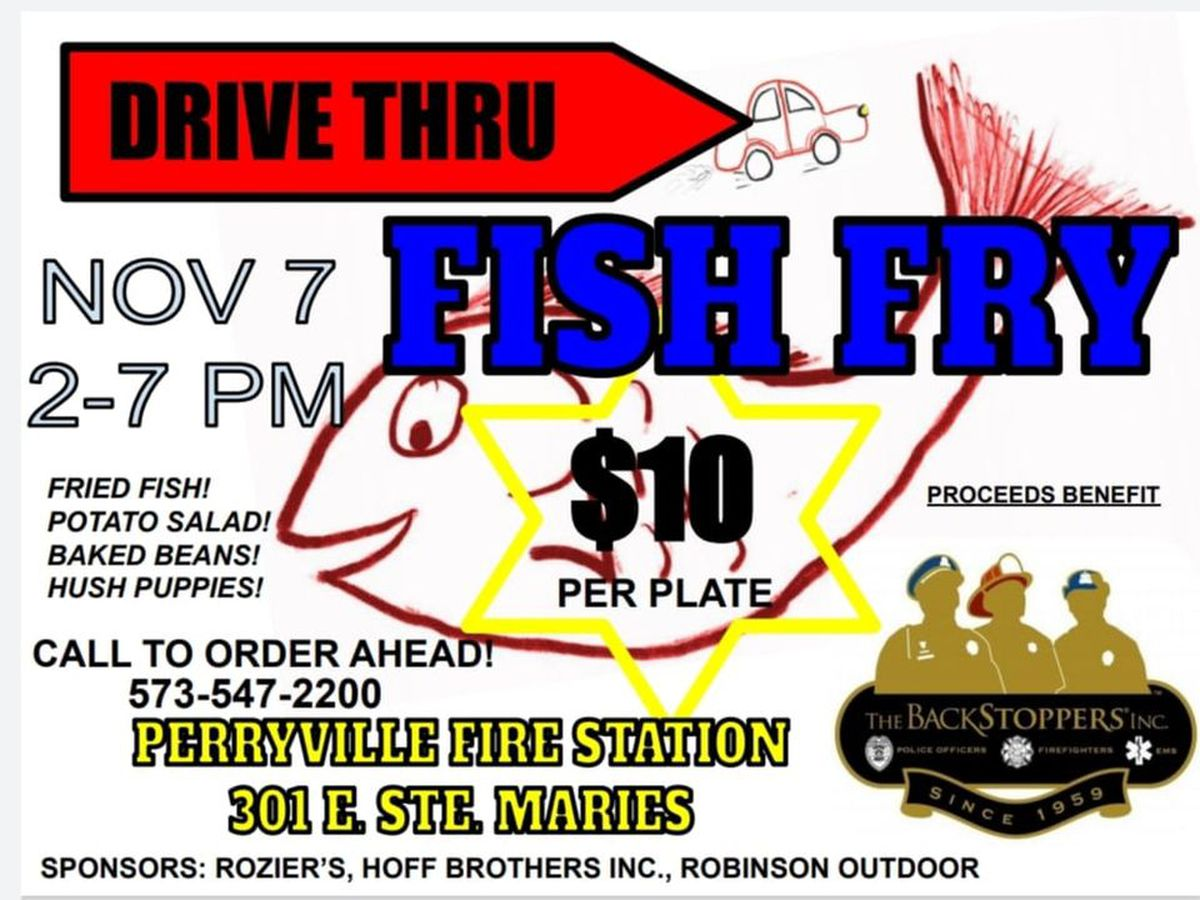 Perryville Police Dept. to hold drive-thru fish fry