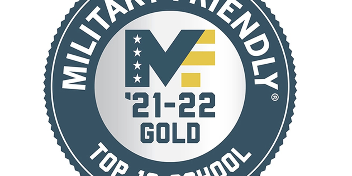 Southeast receives 2021-2022 Military Friendly Top 10 Schools and Gold Designation award