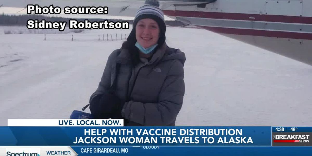 Jackson woman travels to Alaska to administer COVID-19 vaccine
