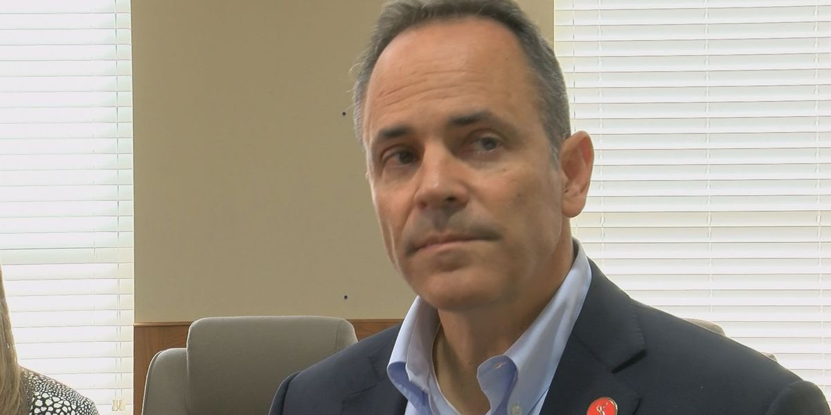 Kentucky governor highlights national issues in campaign