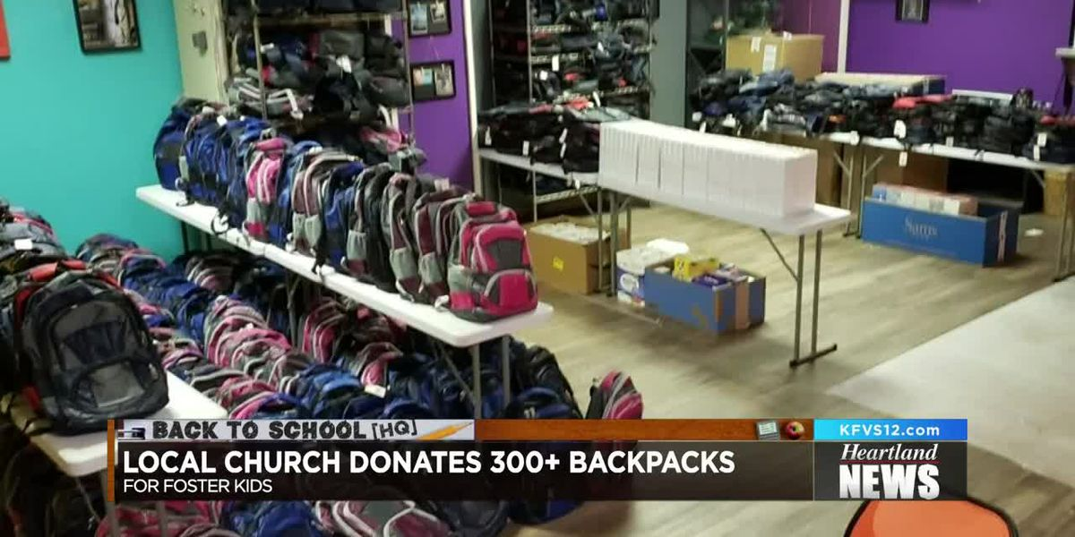 'Hope for One More' gives backpacks to foster children