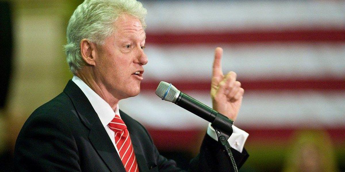 Former President Bill Clinton visits St. Louis