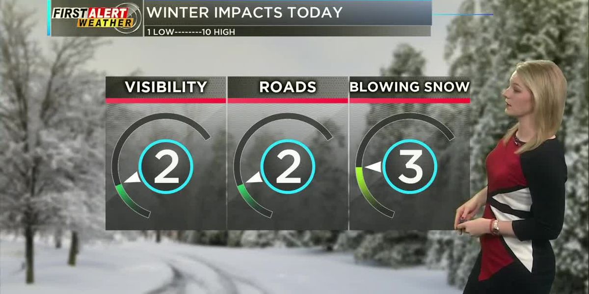First Alert Weather at Noon 1/20