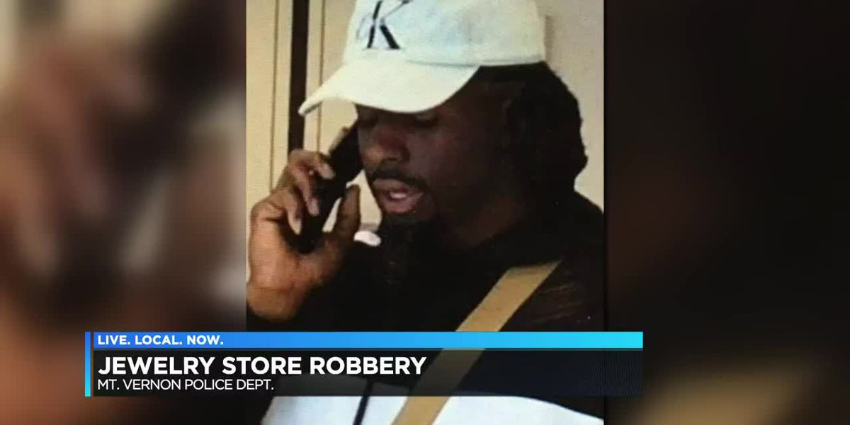 Mt. Vernon store robbery suspect sought