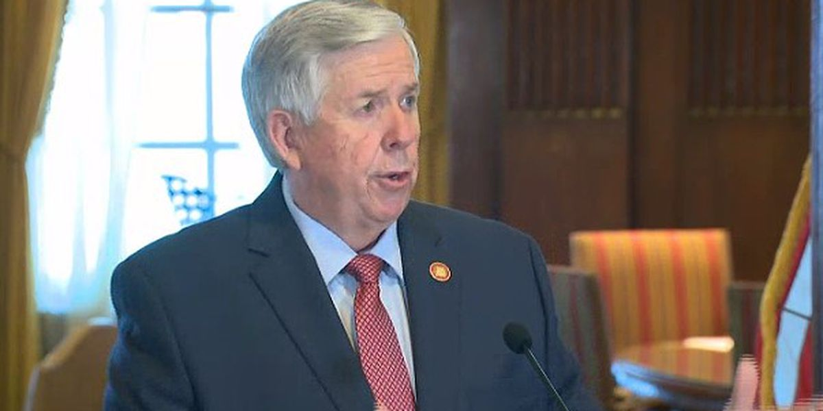 LIVE: Gov. Parson holds COVID-19 briefing